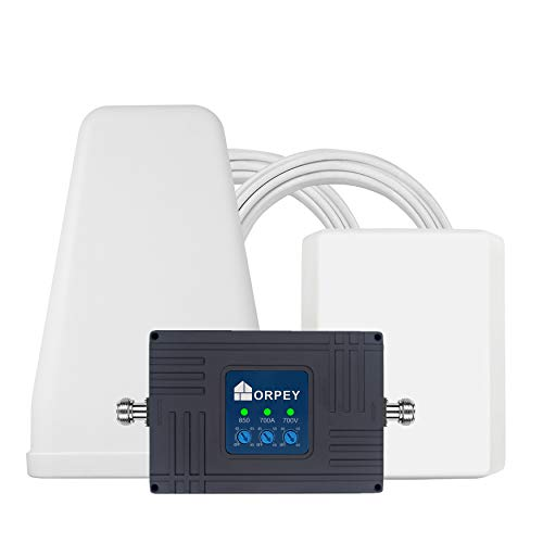 ORPEY Cell Phone Signal Booster for Home and Office Use - Easy To Setup- Supports 5,500 Square Foot Area