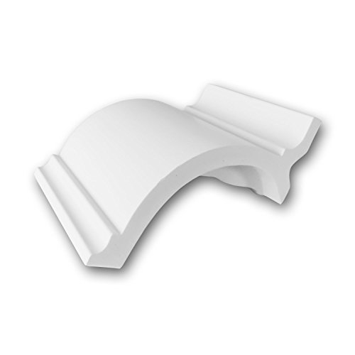 Orac Decor | High Density Polyurethane Crown Moulding | Primed White | 4in Sample Piece | C902