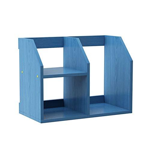 Librería Pequeña Estudiante Niños TIERED Desktop Storage Estantería, Estantería De Almacenamiento En Escala De Oficina, Estantería De Almacenamiento De Dormitorio Estante De Estante De Exhibición