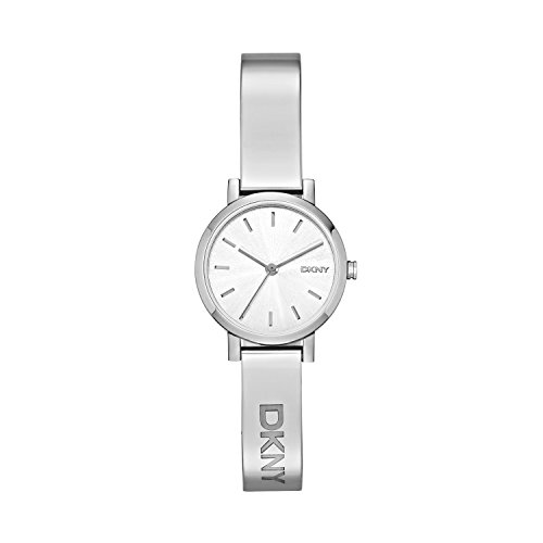 DKNY Damen Analog Quarz Smart Watch Armbanduhr mit Edelstahl Armband NY2306