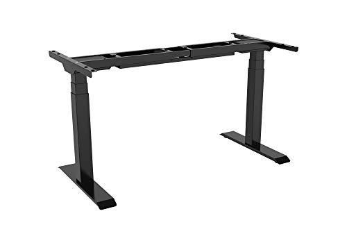 celexon elektrisch höhenverstellbarer Schreibtisch-Tischgestell Professional eAdjust-58123 - stufenlos verstellbar: 58-123 cm - schwarz
