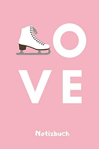 OVE NOTIZBUCH: A5 Notizbuch KALENDER für Eiskunstläufer   Eiskunstlauf   Training   Geschenkidee   Eiskunstlauf   Schlittschuhlaufen   Schlittschuhe   Wintersport
