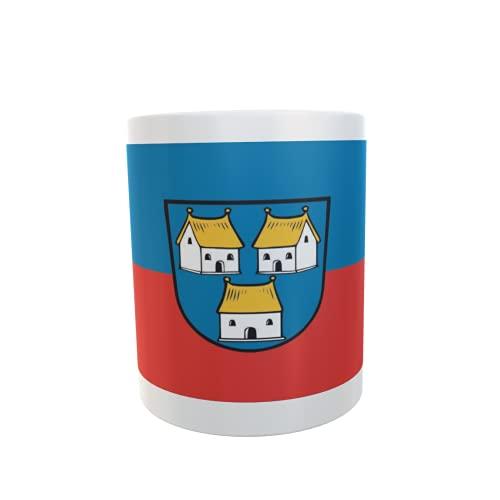 U24 Tasse Kaffeebecher Mug Cup Flagge Dorfen