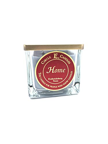 Circle E Home Scented Jar Candle | Size 22oz | 110 Hour Burn Time | 2 Wicks | Wax Color Stormy Gray | Glass Jar | Made in USA