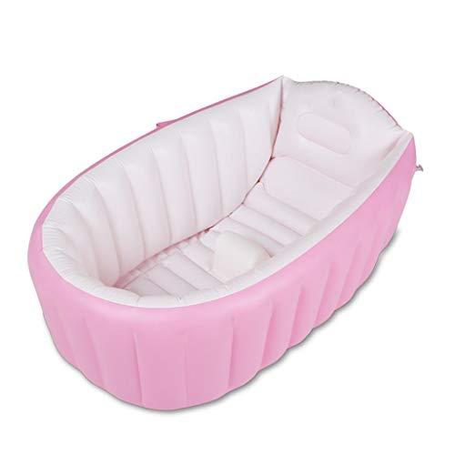 SHYOD Badewanne-Sauber aufblasbare Baby-Badewanne/Alter 1 Monat - 3Years / 2 Farben + Luftpumpe Ursprünglichkeit (Farbe: B) zhangxu (Color : A)