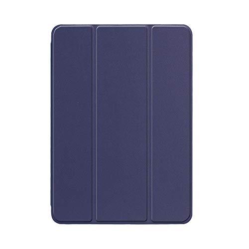 YYLKKB For iPad 10.2 inch 2020 For ipad 8th Gen 10.2 A2428 A2429 PC Back PU Leather Smart Cover Auto SleepAuto Sleep-Navy -10.2 2020 8th
