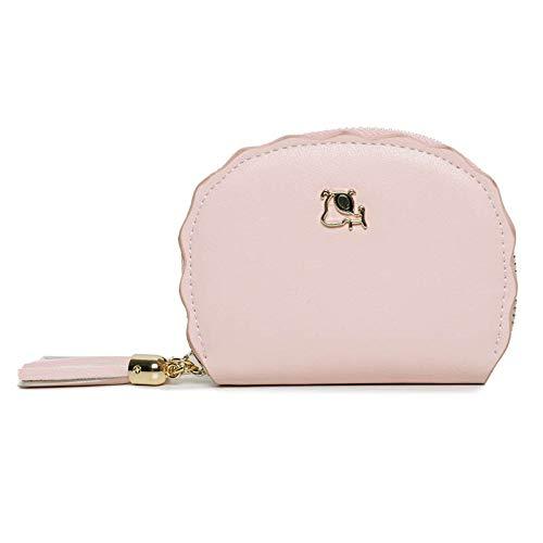 TRN Rice Tasche Karte Frauen Süße Persönlichkeit Mini-Multi-Card Kleine Frische Große Kapazität Einfache Geldbörse,A,Paket