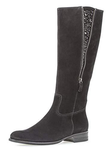 Gabor Shoes Damen Fashion Stiefeletten, Schwarz 17, 41 EU