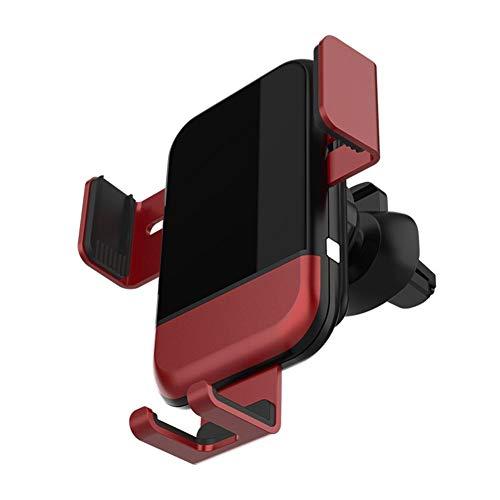 Demarkt Soporte de teléfono móvil para la ventilación del coche universal para la carga inalámbrica del coche