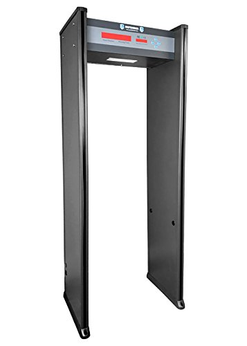 Learn More About Walk Through Metal Detector for Private Buildings 6 LED Zones