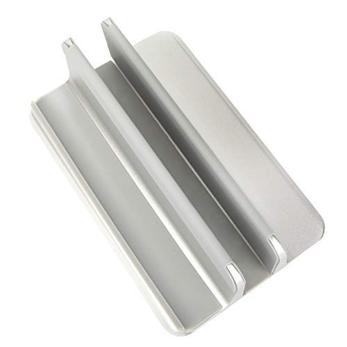 LKAIBIN Laptop Stand Vertical, Titular de la portátil de Aluminio con tamaño Ajustable del Muelle Compatible FOR For Macbook/Superficie /// computadoras portátiles del Juego (hasta 17,3 Pulgadas)