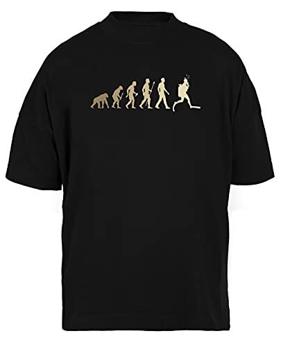 Luxogo Gracioso Buceo Evolución Camisa Unisex Nera Holgada Camiseta Hombre Mujer Baggy Men's Women's Black T-Shirt