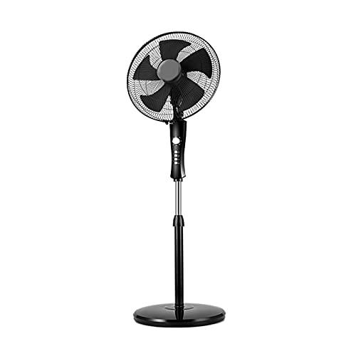 Ventilador vertical de cinco hojas, enfriamiento inteligente y ventilador de piso silencioso, adecuado para ventiladores de pie en hogares, dormitorios y oficinas