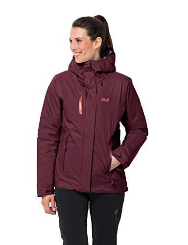 Jack Wolfskin Damen Troposphere Jacket W Winterjacke, Fall red, M
