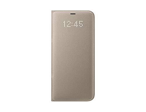 Samsung Led View, Funda para smartphone Samsung Galaxy S8 Plus, Oro