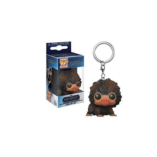 Funko 32769 Pocket POP Schlüsselanhänger: Fantastic Beasts 2: Baby Niffler (Braun mehr)