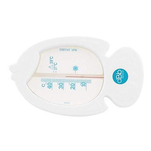 dBb Remond Thermomètre de Bain - Poisson - Blanc