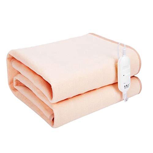 HealHeaters Elektrische deken, zacht, verwarmingsdeken, 150 x 70 cm, 50 W, gemakkelijk te reinigen, handwasbaar