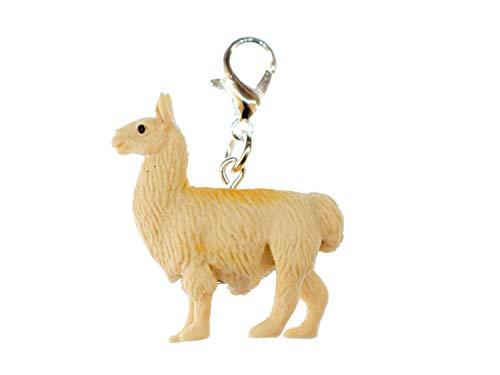 Miniblings America del Encanto de Alpaca Lama Camel Sur Perú Goma - joyería Hecha a Mano de Plata de la Manera Plateado I Colgantes - Colgante Pulsera - Colgante para la Pulsera