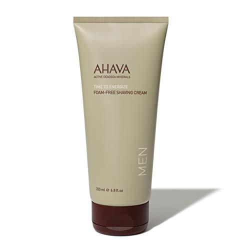 AHAVA Time To Energize Crema De Afeitar Sin Espuma, 200 ml