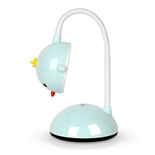 Lámpara de mesa Lámpara lámpara de escritorio de dibujos animados 6w protección de ojo de lectura ligero interruptor táctil usb lámpara de mesa de carga de tres velocidades Temperatura de tres velocid