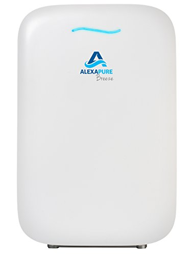 Alexapure 3049 Breeze Energy-Efficient True HEPA + Ion Cluster Air Purification System