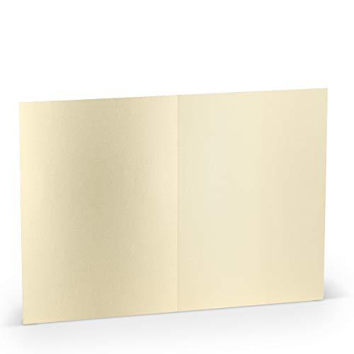Paperado vouwkaarten set - Amarena (5 stuks) -P Lueur de bougie