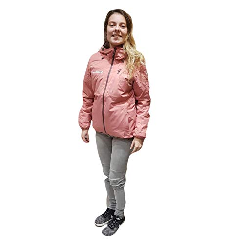 Rock Experience Crash Padded Rose, Da. Jacke
