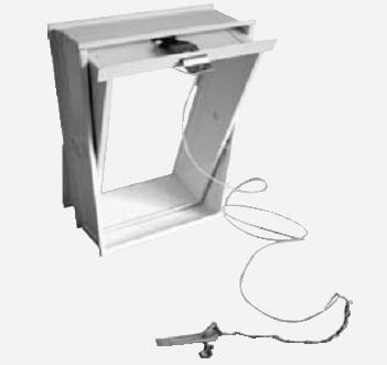 Domodul ® Lüftungsflügel Glasbausteine Zugvorrichtung, weiß Glasbaustein-Fenster 8cm, Größe [mm]:190x190