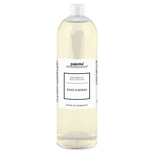 Raumduft Nachfüllflasche 1000ml pajoma Duftöl für Diffuser Duft wählbar (Roses & Berries)