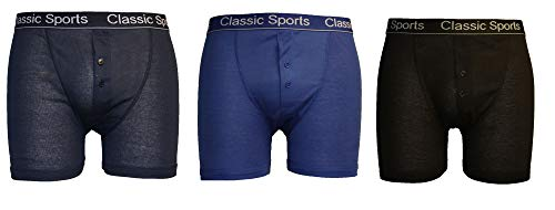 Classic Sports - Boxer - Homme - Multicolore - Coloris assortis - Large