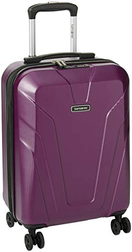 Samsonite Frontier Spinner Ladies Small Purple Polycarbonate Luggage Bag Q12050001
