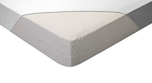 Pikolin Home - Funda de colchón bielástica con tratamiento antiácaros transpirable que se adapta a colchones de hasta 28 cm de alto
