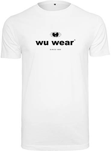 Wu-Wear Camiseta para Hombre Wu-Tang Clan tee con Texto Impreso del Nombre...