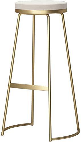 Barkruk, keukenstoel, vrijetijdsstoelen, teller, hoogte van de stang, avondeten, ontbijtstoel, gouden beenkstoel, zithoogte 25,6 inch