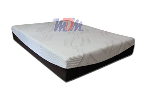 Custom Classic Short Queen 60x74 Mattress Gel 10 Memory Foam