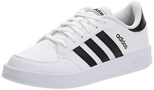 adidas BREAKNET, Zapatillas de Tenis Hombre, FTWBLA/NEGBÁS/NEGBÁS, 45 1/3 EU