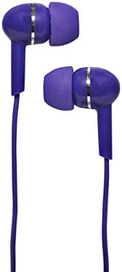 MAGNAVOX MHP4850 PL Ear Buds in Purple Available in Black Blue Pink Purple White Ear Buds Wired product image