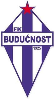 FK Buducnost Podgorica - Montenegro Football Soccer Futbol - Car Sticker - 6