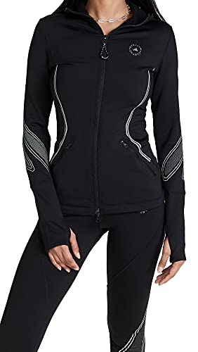 adidas by Stella McCartney Women's Asmc Truepace Midlayer Jacket, Black, XX-Small