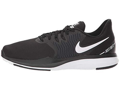 Nike - Zapatillas de fitness para mujer, Multicolor (Negro/blanco/antracita), 39 EU