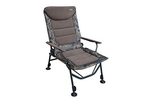 MK-Angelsport Big Boy belastbar bis 150kg, Leichter bequemer Carp Chair Angelstuhl Karpfenstuhl Stuhl Outdoor