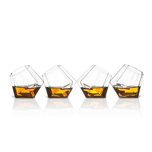 Thumbs Up! Shot Glasses Bicchierini Diamante, 8.5 x 24 x 8.5 cm, 4 unità