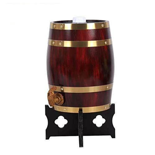 Barril de Roble Toneles de Vino Barril de Madera Barriles de madera, Barriles De Roble Barriles De Whisky, Adecuado para Fabricación o almacenar brandy Vino blanco, Barriles Puede ser Metido en el Bar