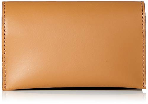 PIECES Pchilal Leather Purse - Portafogli Donna, Marrone (Cognac), 2x7x11,5 cm (B x H T)