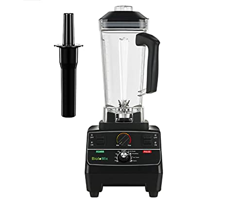 N\C BPA Free2 L2200 W Smart Timer Professionale Pre-programmato Frullatore Mixer Spremiagrumi Robot da Cucina Frullato di Ghiaccio Tritatutto