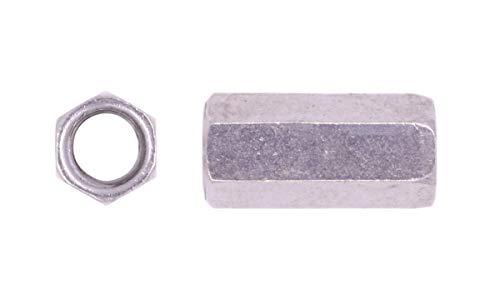 U-Turn - 3/8-16 Coupling Nut Stainless Steel (1-1/8
