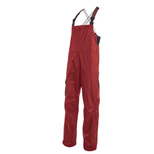 Grundéns Men's Weather Watch Fishing Bib Trouser, Red - Large
