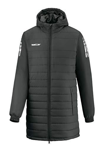 Saller Steppjacke - Trainermantel 350 schwarz Gr. L