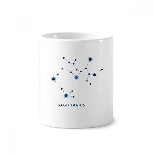 Schütze Sternbild Zeichen Sternzeichen Keramik Zahnbürste Stifthalter Becher weiß Tasse 350ml Geschenk